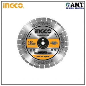 Diamond disc for asphalt cutting Laser welded rim - DMD064051
